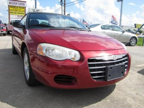 Photo #6: convertible: 2006 Chrysler Sebring (Inferno Red)