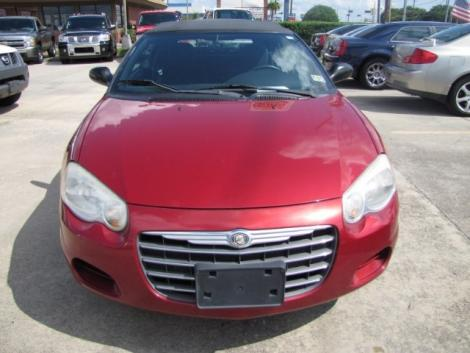 Photo #7: convertible: 2006 Chrysler Sebring (Inferno Red)