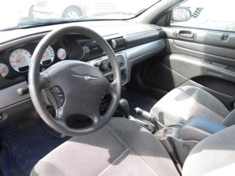 Photo #8: convertible: 2006 Chrysler Sebring (Inferno Red)