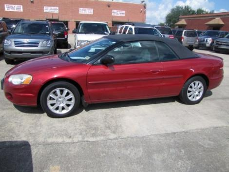 2006 chrysler sebring convertible for sale in houston tx under 7000. Black Bedroom Furniture Sets. Home Design Ideas