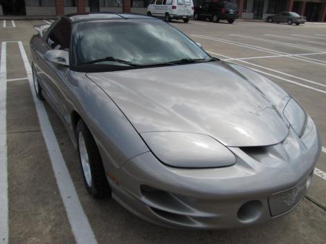 Photo #2: sports coupe: 1999 Pontiac Firebird (Pewter Metallic)