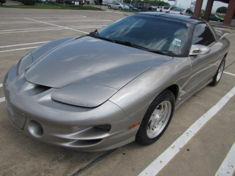 Photo #1: sports coupe: 1999 Pontiac Firebird (Pewter Metallic)