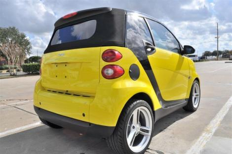 Photo #12: convertible: 2009 Smart ForTwo (Yellow)