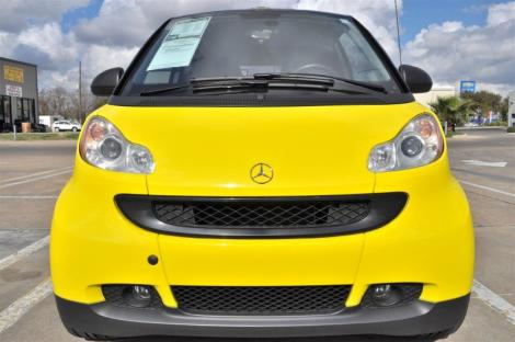Photo #2: convertible: 2009 Smart ForTwo (Yellow)