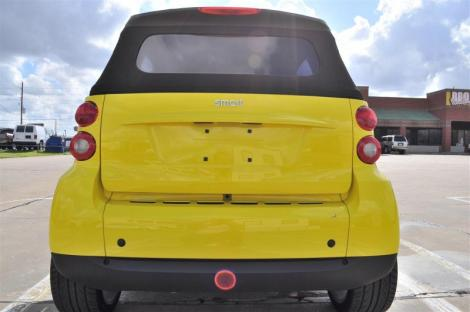 Photo #3: convertible: 2009 Smart ForTwo (Yellow)