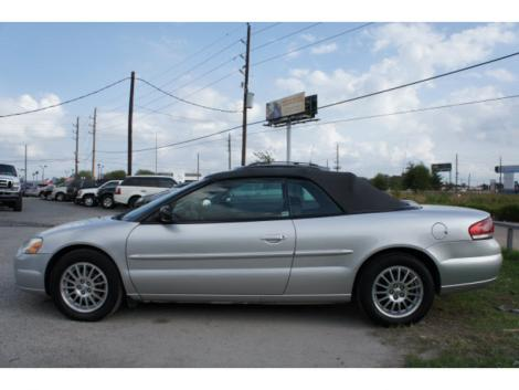 2004 Chrysler Sebring LXi Convertible For Sale in Houston ...