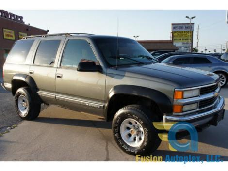 1999 Chevrolet Tahoe 4x4 For Sale In Houston Tx Under