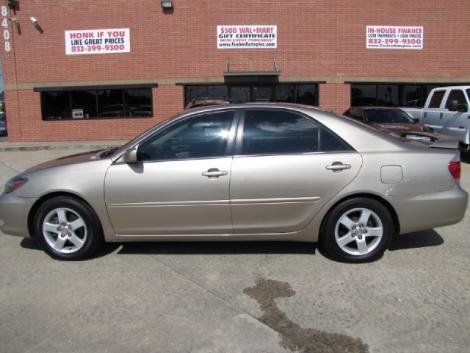 Photo #2: sedan: 2002 Toyota Camry (Tan)