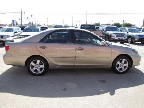 Photo #5: sedan: 2002 Toyota Camry (Tan)