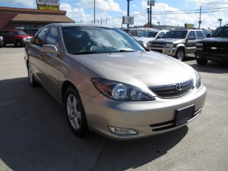 Photo #6: sedan: 2002 Toyota Camry (Tan)