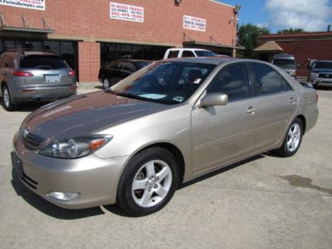 Photo #1: sedan: 2002 Toyota Camry (Tan)