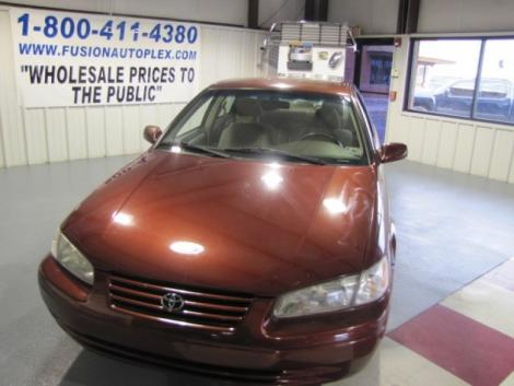 Photo #3: sedan: 1999 Toyota Camry (Dark Red)