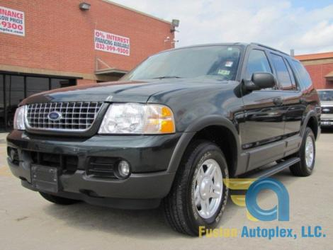 Photo #2: SUV: 2003 Ford Explorer (Green)