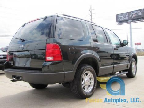 Photo #6: SUV: 2003 Ford Explorer (Green)