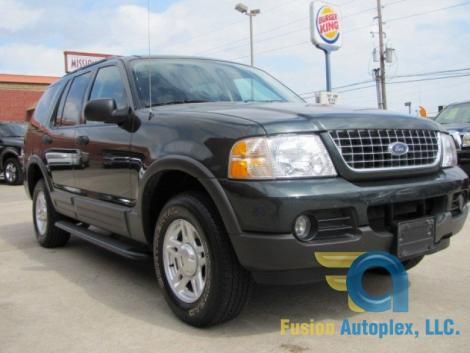Photo #1: SUV: 2003 Ford Explorer (Green)