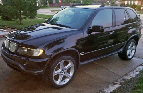 Cheap Used Cars Under 3000 >> BMW X5 4.6is '03, 1-Owner SUV Under $8K, Chicago IL, Black ...