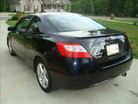 Black honda civic ex l sporty coupe for sale by owner in for Used honda civic for sale under 5000