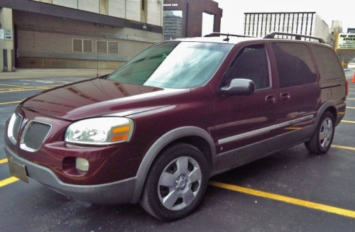Pontiac Montana SV6 '06, Minivan under $5K, Dayton OH, By ...