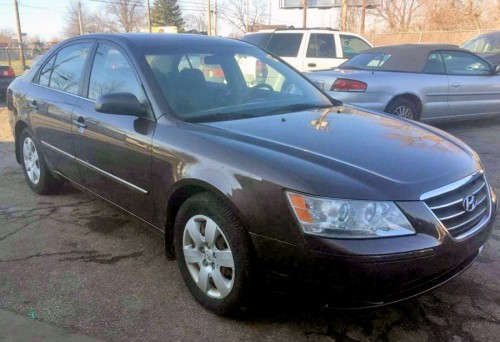 Hyundai Sonata '09, Used Car Under $4000, Cleveland OH ...