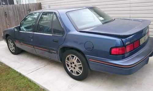 1994 chevrolet lumina sedan for sale by owner in sc under. Black Bedroom Furniture Sets. Home Design Ideas