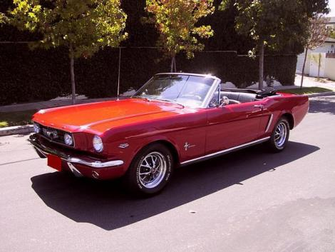 classic ford mustang convertible 1965 for sale by owner red. Black Bedroom Furniture Sets. Home Design Ideas