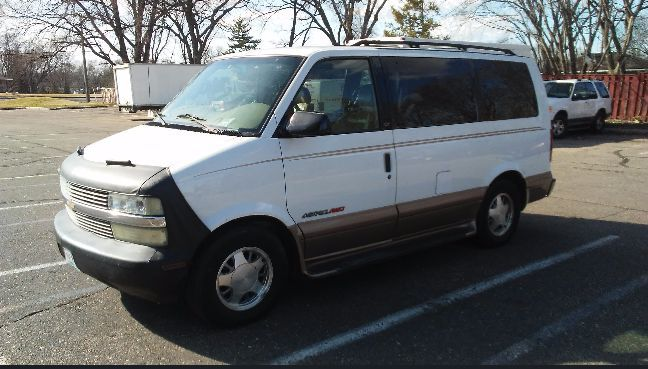 2001 Chevrolet Astro Conversion Van For Sale By Owner In