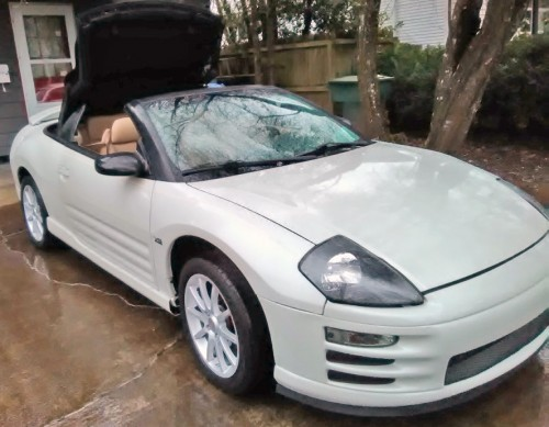 Mitsubishi Eclipse Spyder Convertible Under 5k Salem Or