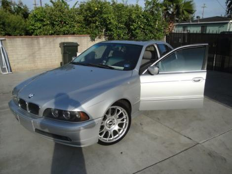 Photo #4: luxury sedan: 2001 BMW 525 (Silver)