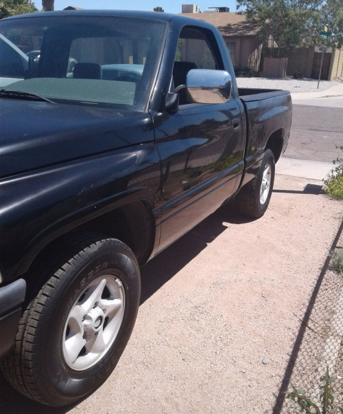 1998 dodge ram pickup truck for sale by owner in az under 3000. Black Bedroom Furniture Sets. Home Design Ideas