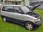 1992 Mazda MPV (Grey And Blue)