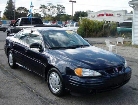 Used Pontiac Grand AM 2001 Under $4000 in Swansea, MA ...