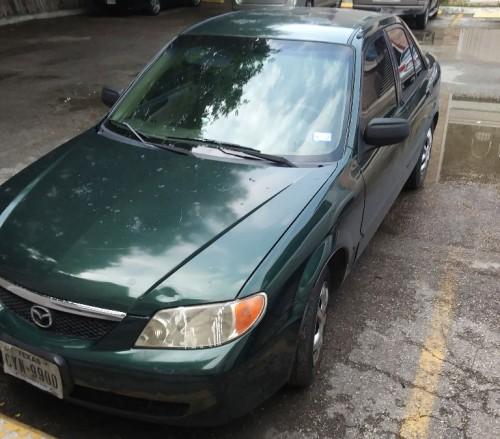 Cheap Car Under $1K In San Antonio TX: Mazda Protege '01