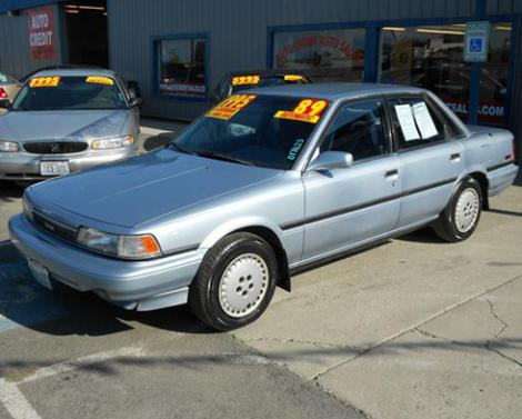 Used 1989 Toyota Camry Le Sedan For Sale In Wa Autopten Com