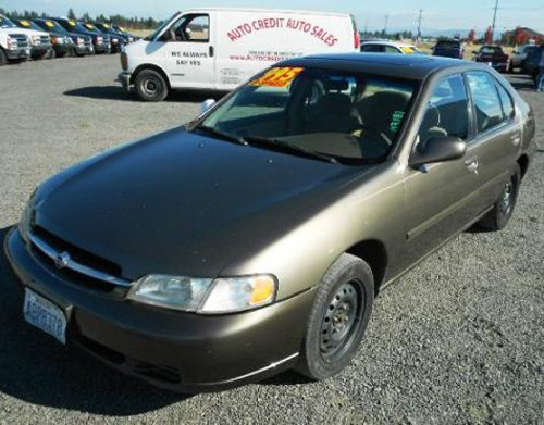 Used Cars Under 8000 >> Get A Used Car For Less Than $1000 in WA: Nissan Altima GXE 1998 - Autopten.com
