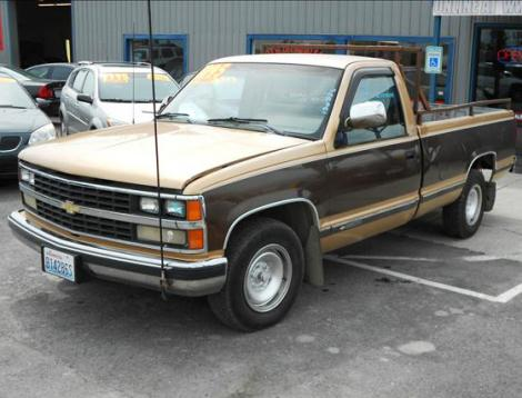 used 1988 chevrolet 2500 truck for sale in wa. Black Bedroom Furniture Sets. Home Design Ideas