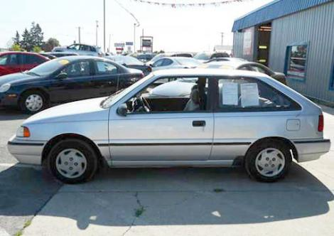 Used 1993 Hyundai Excel Coupe For Sale In Wa Autopten Com