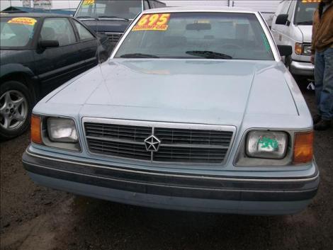 Used 1989 Dodge Aries America Sedan For Sale In Wa