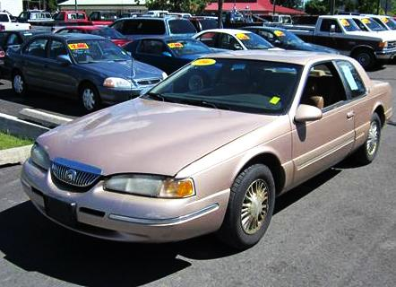 Used 1996 Mercury Cougar Xr7 Coupe For Sale In Wa