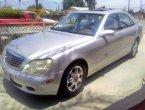 2002 Mercedes Benz S-Class in CA