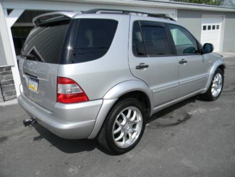 1999 mercedes benz ml class 430 for sale under 7000 in. Black Bedroom Furniture Sets. Home Design Ideas