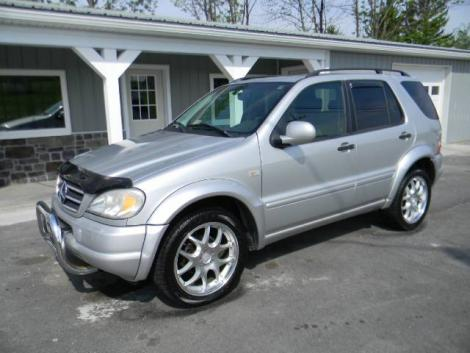 Used 1999 Mercedes Benz Ml Class 430 Luxury Suv For Sale
