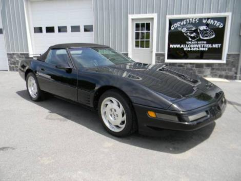 Used 1993 Chevrolet Corvette Sports Coupe For Sale In Pa