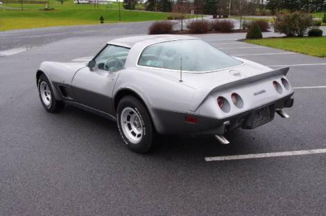 Photo #10: coupe: 1978 Chevrolet Corvette (Silver)