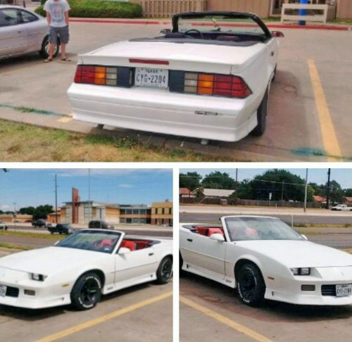 Chevy Camaro RS '92 Convertible $3500 Or Less Lubbock TX