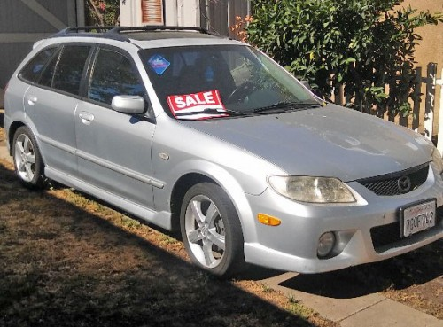 Repairable Car 500 Bakersfield Ca Mazda Protege5 04 By Owner