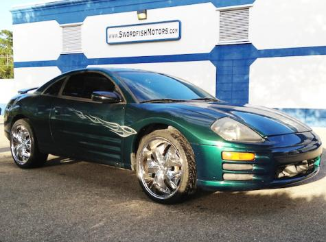 Used Cars For Sale Under 1000 >> 2001 Mitsubishi Eclipse For Sale Under $3000 in Florida ...