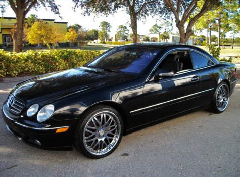 2002 Mercedes Benz CL-Class CL500 For Sale in Fort Myers FL Under $12000 - Autopten.com