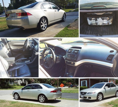 Used Car Under $5000 Chesapeake VA: Acura TSX '04 (By