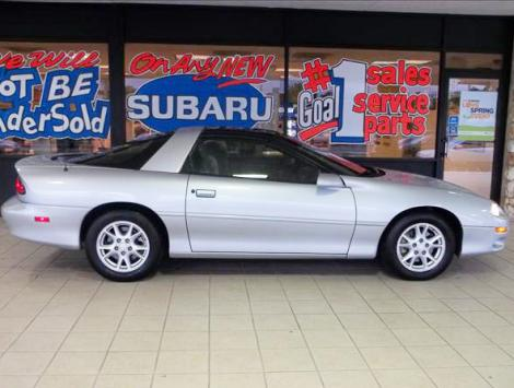 Cheap Fast Cars Under 5000 >> 2002 Chevrolet Camaro 35th Anniversary For Sale Under