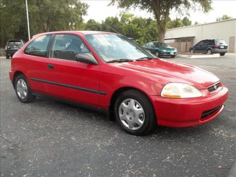 used 1998 honda civic cx coupe for sale in fl. Black Bedroom Furniture Sets. Home Design Ideas